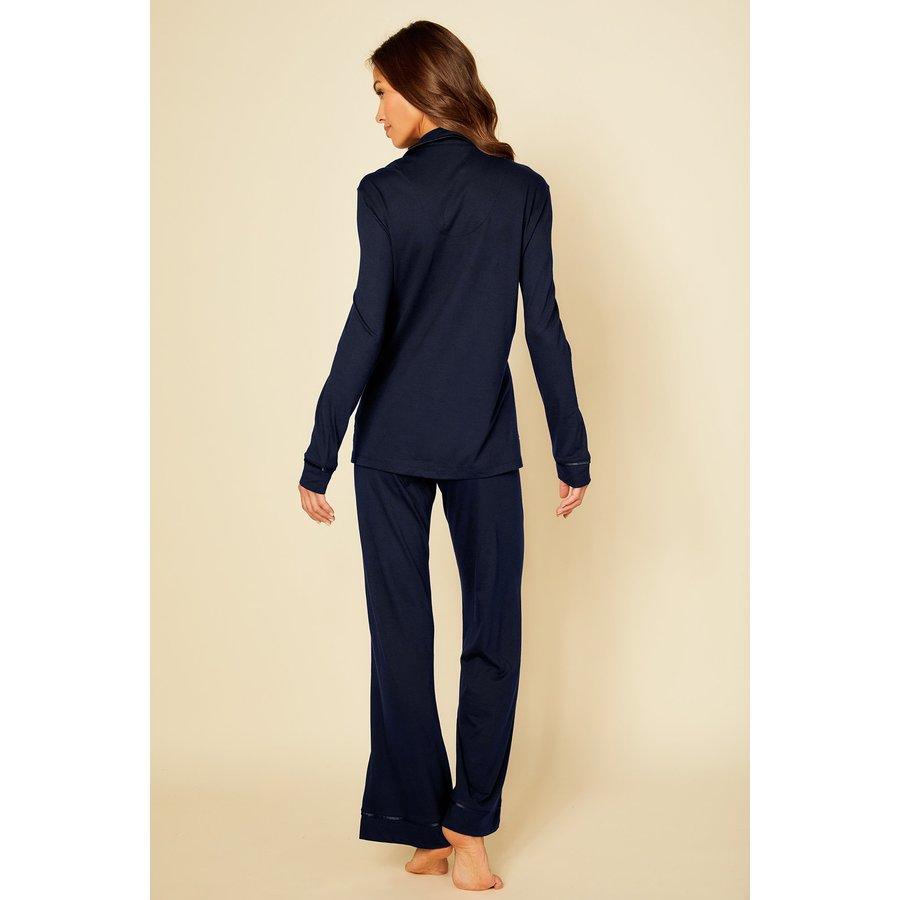 Bella Pima PJ Fitted Long Sleeve Top & Pant Set