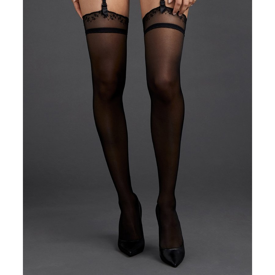 Art of Ink Stockings Without Silicone
