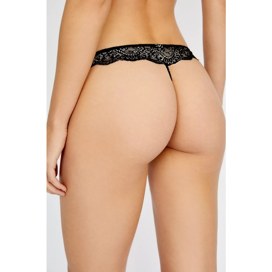 So Fine Lace Thong