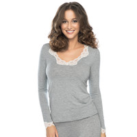 Simply Perfect Long Sleeved Nightshirt