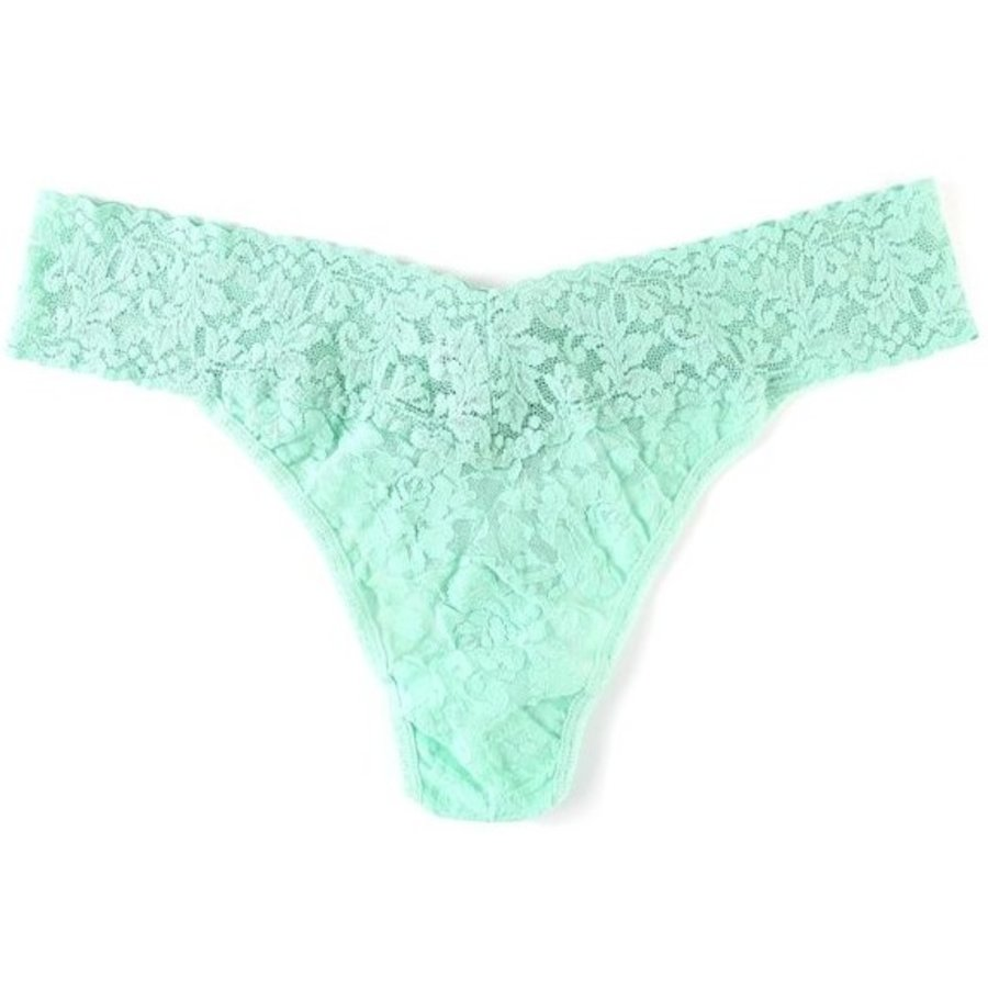 Signature Lace Original Rise Thong