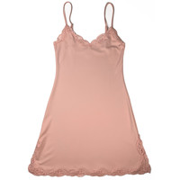Delicious with Lace Adjustable Strap Chemise