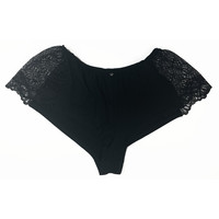Venice Hipster Short with Lace