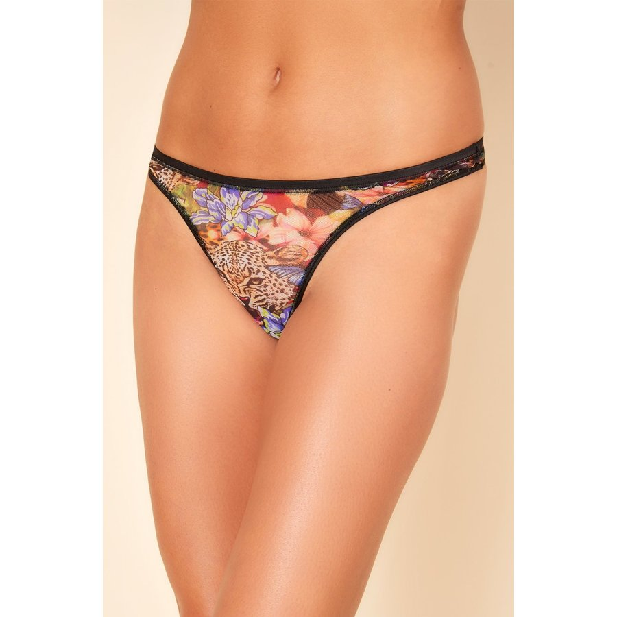 Soire Confidence Printed  Classic Thong