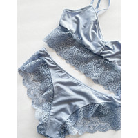 So Fine With Lace Ruched Bralette