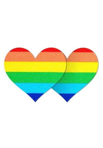 One Love Heart Pasties