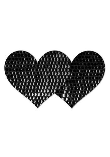 Blackout Heart Pasties