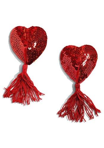 Gypsy Rose Heart-Shaped Tassels