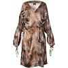 ELSE Palm Springs Silk Wrap Robe