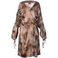 Palm Springs Silk Wrap Robe