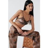 Palm Springs Silk Pants