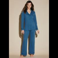 Bella Pima PJ Classic Long Sleeve Top & Pant PJ Set