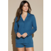 COSABELLA Bella Pima PJ Comfort Long Sleeve Top & Boxer Set