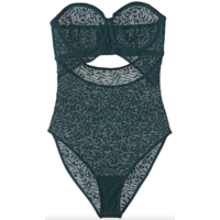 Acacia Underwire Strapless Cut-Out Bodysuit