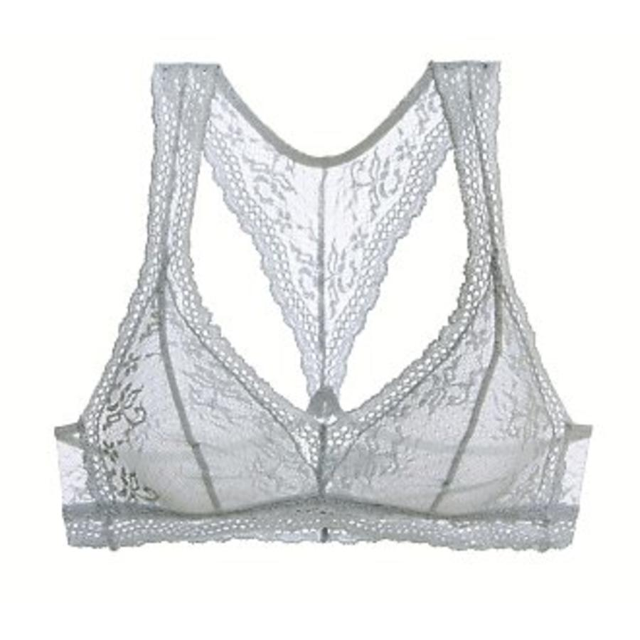 colette the lace racerback bralette