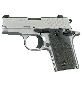 Sig Sauer Sig P238 HD Pistol 238380HDCA, 380 ACP, Pistol 2.7 in, G10 Composite Grip, Stainless Finish, Night Sights, 6 Rd, CA Approved