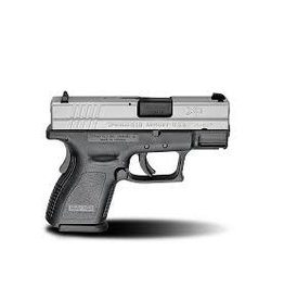 "Springfield Springfield Armory XD-9 3"" Sub-Compact Bi-Tone .9MM Essential Package XD9821"