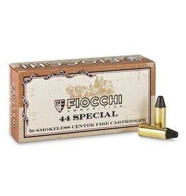 Fiocchi 44SCA Pistol Shooting Dynamics 44 Special 210 GR LRNFP 50 Bx/10 Cs