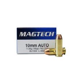 Magtech 10A Sport Shooting 10mm Automatic 180 GR Full Metal Jacket 50 Bx/ 20 Cs