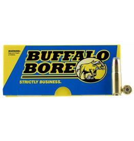 Buffalo Bore Ammunition 47D/20 Hunting and Sniping 458 SOCOM 400 GR Jacketed Flat Nose 20 Bx/ 12 Cs