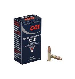 CCI 970 Quiet-22 22 LR 40GR Segmented Hollow Point 50Box/100Case