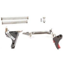 Zev Tech. Glock .45ACP Gen 3 Fulcrum Drop-in Trigger Kit, Black Trigger Pad, Black Safety