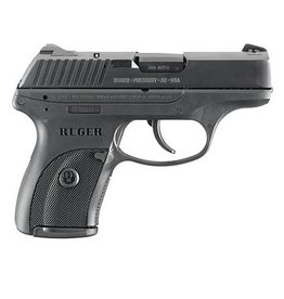 Ruger LC380 Pistol, 380 ACP, 3.12 in, Checkered Black Grip, Black Finish, 7 Rd (LEO ONLY)