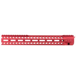 Strike Industries Strike SISTRIKERAIL Strike Rail AR-15 Rifle Aluminum Red 15.5""