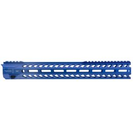 Strike Industries Strike SISTRIKERAIL Strike Rail with M-Lok AR-15 Rifle Aluminum Blue Hard Coat Anodized 15.5""