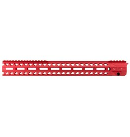 Strike Industries Strike SISTRIKERAIL Strike Rail AR-15 Rifle Aluminum Red 17""