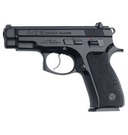 "CZ 01194 CZ 75 D PCR Compact SA/DA 9mm 3.7"" 10+1 Black Rubber Grip Blk"