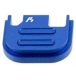 Strike Industries Strike SIGSPV2BLU Glock V2 Slide Cover Plate Glock 17-39 Aluminum Blue