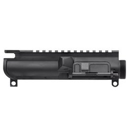 Spike's Tactical, Flat Top Upper w/Ejection Port Door, 9MM, Black Finish