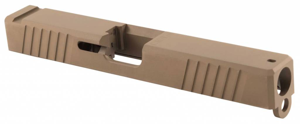 Polymer80 P80PS9V1DLCS G17 Gen3 Compatible Slide 17-4 Stainless Steel FDE