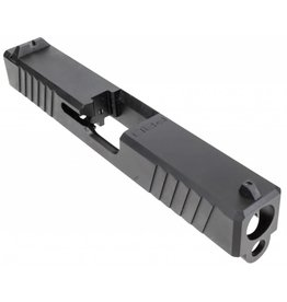 Polymer80 P80PS9CSTDDL G19 Gen3 Compatible Slide 17-4 Stainless Steel Black PVD