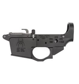 Spike's Tactical, STLS920 9mm Glock Style Lower w/Spider Logo, Semi-automatic, Black Finish, Bolt Locks Back After Last Round