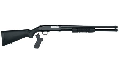 """Mossberg, 500, Persuader, Pump Action, 12 Gauge, 3"""" Chamber, 20"""" Cylinder Barrel, Blue Finish, Synthetic Stock, Bead Sight, 7Rd, w/Pistol Grip"""