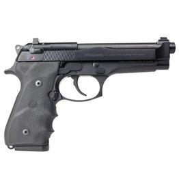 "Beretta USA JS92F700CA 92 FS Brigadier *CA Compliant* 9mm Luger Single/Double 4.9"" 10+1 Black Hogue Wraparound Rubber Grip Black Aluminum Alloy Frame Black Slide"