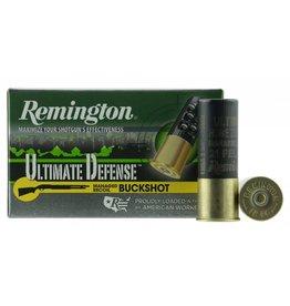 "Remington Ammunition 12BRR4HD Ultimate Defense Buckshot 12 Gauge 2.75"" Buckshot 21 Pellets 4 Buck 5 Bx/ 20 Cs"
