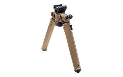 "Magpul Magpul Industries, Bipod for 1913 Picatinny Rail, Flat Dark Earth Finish, Hard anodized 6061 T-6 Aluminum, Fits 1913 Style rails, 6.3""-10.3"" Length, Weight 11oz"