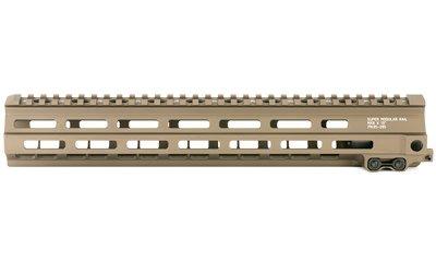 "Geissele Automatics, MK8, Super Modular Rail, 13"", MLOK, includes Stainless Steel Gas Block, Desert Dirt Color"