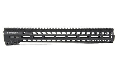 "Geissele Automatics, MK14, Super Modular Rail, 15"", MLOK, Includes Gas Block, Black Finish"
