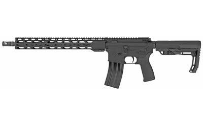 "Radical Radical Firearms, Forged Milspec Rifle, Semi-automatic, 223 Rem/556NATO, 16"" SOCOM Contour Barrel, 1:7 Twist, Black Finish, MFT Minimalist Stock, 1 Magazine, 30Rd, 15"" RPR MLOK Handguard"