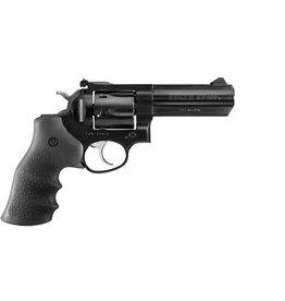 "Ruger GP100 Revolver GP-141 1702, .357 Magnum, 4.2"" Barrel, Black Hogue Monogrip, Black Finish, Adjustable Rear Sight, Ramp Front Sight,  6 Rd"