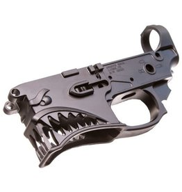 Sharps Bros. Sharps Bros., SBLR01, Gen 2 Hellbreaker, Semi-automatic, Billet Lower Receiver, 223 Rem/556NATO, Black Finish, CNC Machined from 7075 Billet Aluminum