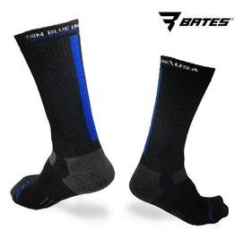 none Thin Blue Line Socks Large