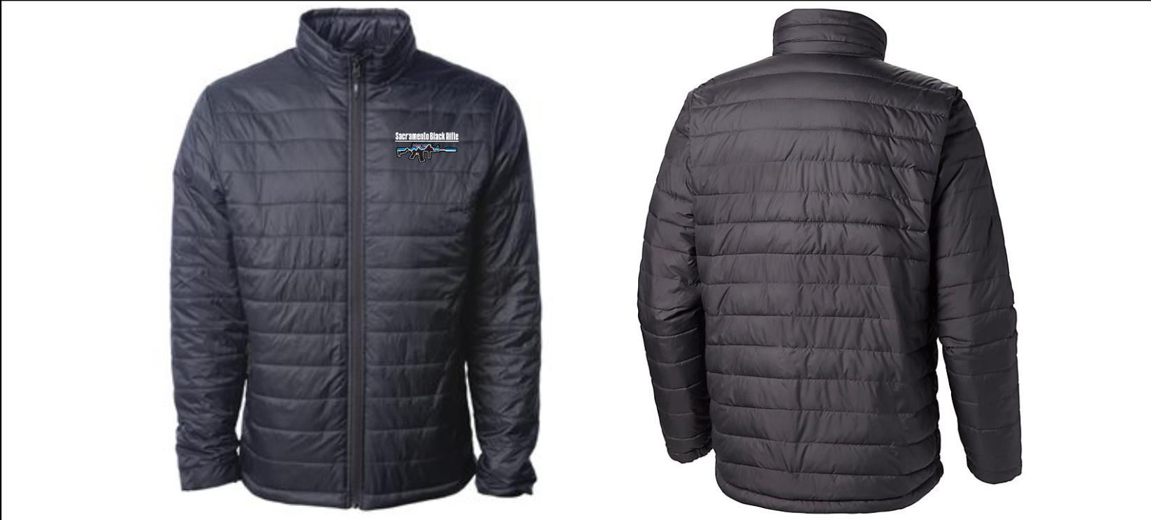 SBR Puffy Jacket Mountain Logo L
