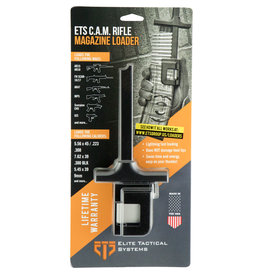 ETS ETS Group ETSCAMRIFLE C.A.M Multiple Mag Loader All Rifles Polymer Clear Finish
