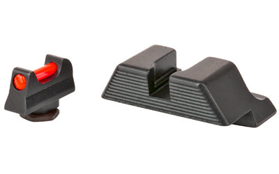 Trijicon, Fiber Sight, Fits Glock 17,19,26,27,33,34, Comes With Red and Green Fiber