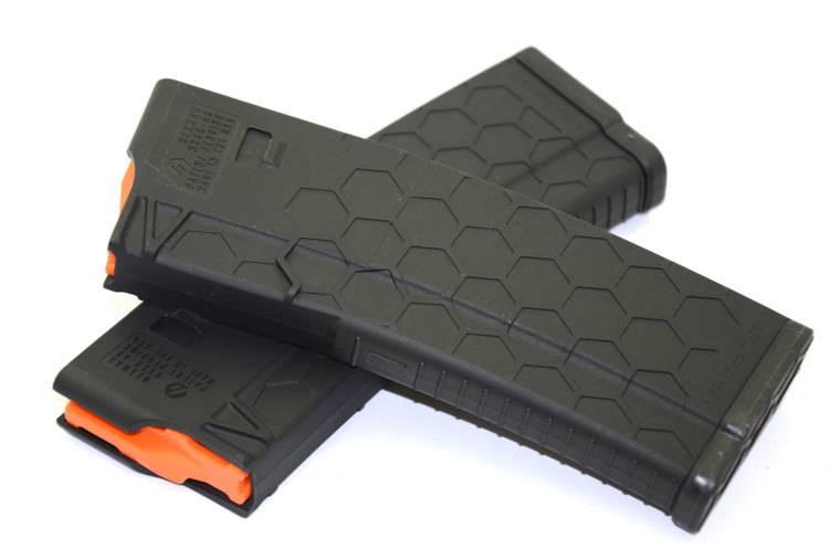 hexmag s2 5 56 10 round magazine black sacramento black rifle